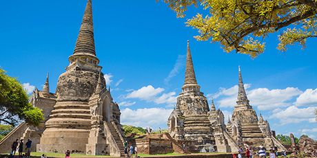 Thailand Historical,Cultural and Natural Tour